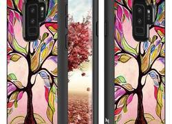 Zizo Sleek Hybrid Design Cover - Etui Samsung Galaxy S9+ (Colorful Tree)