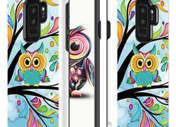 Zizo Sleek Hybrid Design Cover - Etui Samsung Galaxy S9+ (Owl)