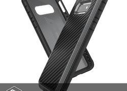 X-Doria Defense Lux - Etui aluminiowe Samsung Galaxy S10e (Drop test 3m) (Black Carbon Fiber)
