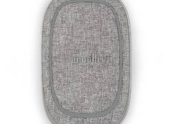 Moshi Porto Q Wireless Portable Battery - Power Bank 5000 mAh z ładowaniem indukcyjnym Qi do iPhone i Android, 5 W (Nordic Gray)