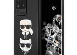 Karl Lagerfeld Embossed Case Karl & Choupette - Etui Samsung Galaxy S20 Ultra