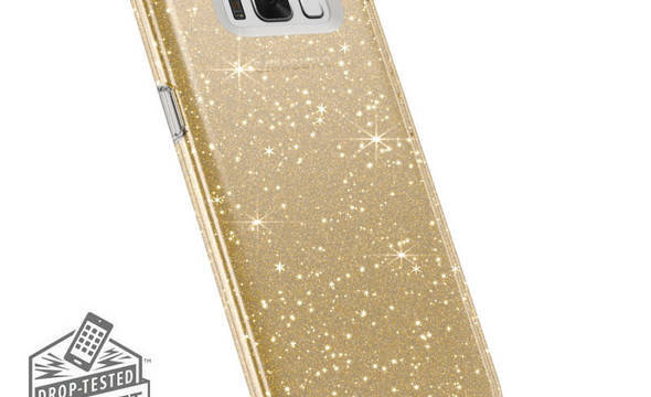 Speck Presidio Clear with Glitter - Etui Samsung Galaxy S8 (Gold Glitter/Clear) - zdjęcie 1