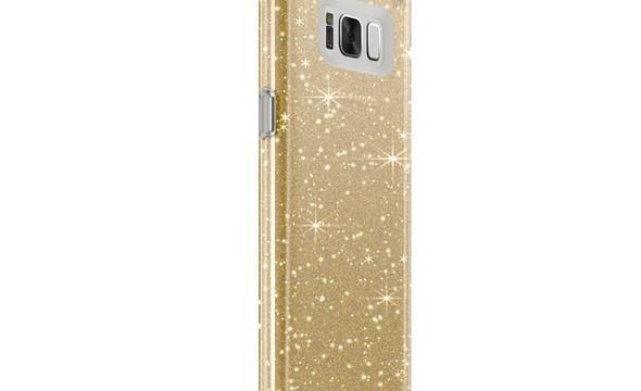 Speck Presidio Clear with Glitter - Etui Samsung Galaxy S8 (Gold Glitter/Clear) - zdjęcie 2