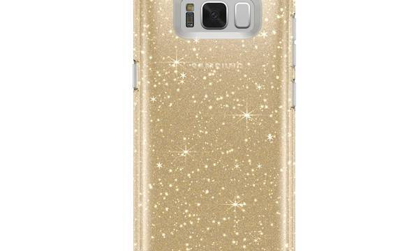 Speck Presidio Clear with Glitter - Etui Samsung Galaxy S8 (Gold Glitter/Clear) - zdjęcie 3