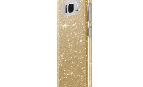 Speck Presidio Clear with Glitter - Etui Samsung Galaxy S8 (Gold Glitter/Clear) - zdjęcie 4