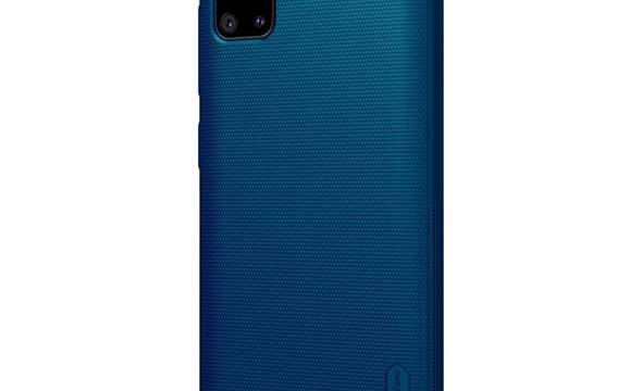 Nillkin Super Frosted Shield - Etui Samsung Galaxy A51 (Peacock Blue) - zdjęcie 2