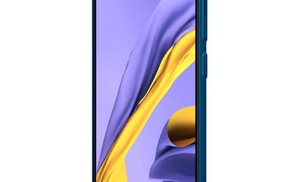 Nillkin Super Frosted Shield - Etui Samsung Galaxy A51 (Peacock Blue) - zdjęcie 6