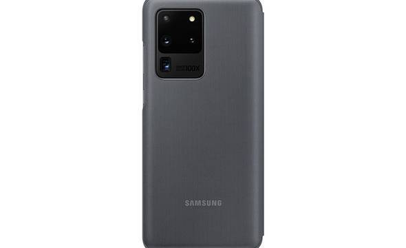 Samsung LED View Cover - Etui Samsung Galaxy S20 Ultra (Gray) - zdjęcie 1