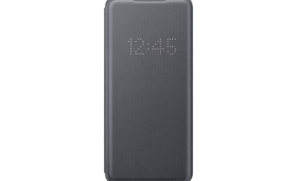 Samsung LED View Cover - Etui Samsung Galaxy S20 Ultra (Gray) - zdjęcie 2