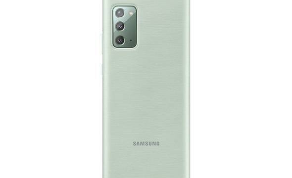 Samsung LED View Cover - Etui Samsung Galaxy Note 20 (Mint) - zdjęcie 2