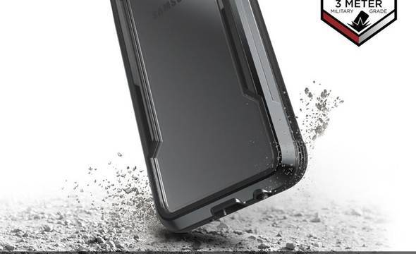 X-Doria Defense Shield - Etui aluminiowe Samsung Galaxy S10e (Drop test 3m) (Black) - zdjęcie 3
