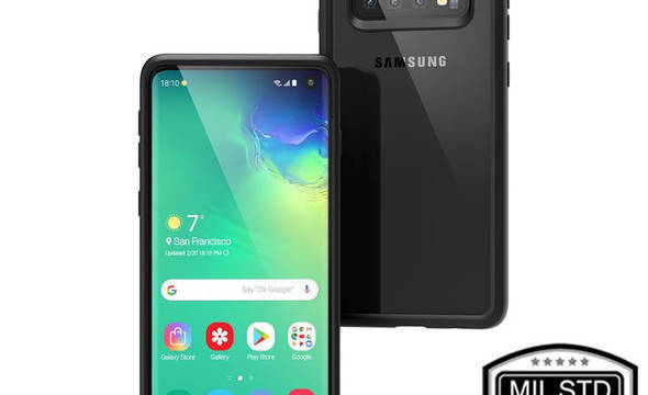 Catalyst Impact Protection Case - Pancerne etui Samsung Galaxy S10 (Stealth Black) - zdjęcie 1
