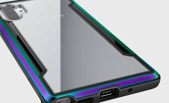 X-Doria Defense Shield - Etui aluminiowe Samsung Galaxy Note 10+ (Drop test 3m) (Iridescent) - zdjęcie 4