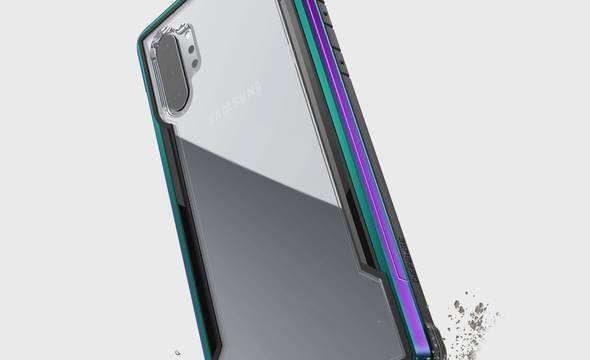 X-Doria Defense Shield - Etui aluminiowe Samsung Galaxy Note 10+ (Drop test 3m) (Iridescent) - zdjęcie 5