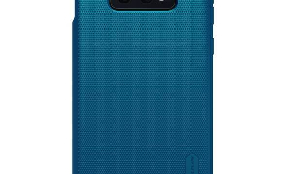 Nillkin Super Frosted Shield - Etui Samsung Galaxy S10e (Peacock Blue) - zdjęcie 1