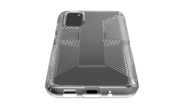 Speck Presidio Perfect-Clear with Grips - Etui Samsung Galaxy S20 (Clear/Clear) - zdjęcie 4