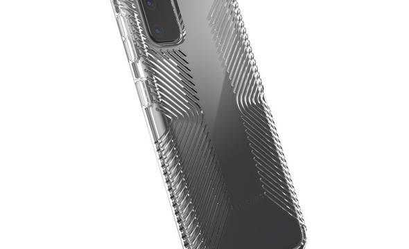 Speck Presidio Perfect-Clear with Grips - Etui Samsung Galaxy S20 (Clear/Clear) - zdjęcie 5