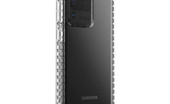 Speck Presidio Perfect-Clear with Impact Geometry - Etui Samsung Galaxy S20 Ultra (Clear/Clear) - zdjęcie 3
