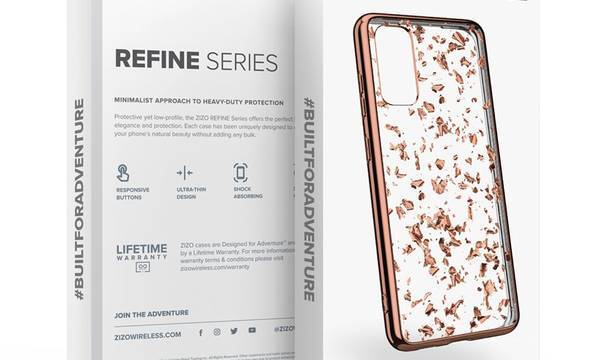 Zizo Refine - Etui Samsung Galaxy S20 (Rose Gold Exposure) - zdjęcie 3